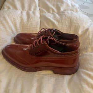 98ab65e24eea Vivienne Westwood Shoes - Vivienne Westwood Ruby Red Patent Brogues